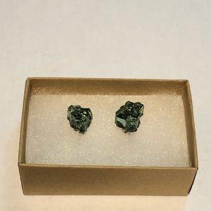 Broken Glass Stud Earrings
